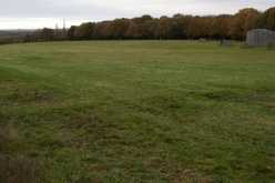Looking north, before the new woodland was planted 2013