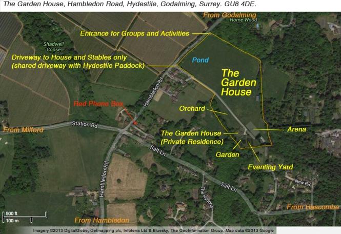 Garden House Map9