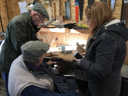 Busy in The Workshop