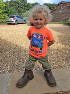 Don't forget your safety boots! Says Ben Merlin