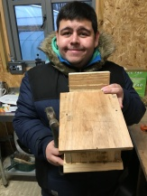I made a birdbox!